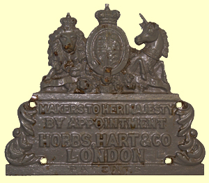 Hobbs, Hart & Co. Plate