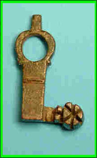 Roman Casket key, 48mm, Bronze, c. 2nd Century