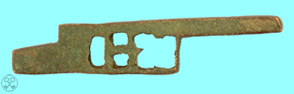 Roman Casket key, 52mm, Bronze, c. 2nd Century
