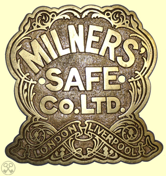 Milner Safe Co. Ltd. Plate