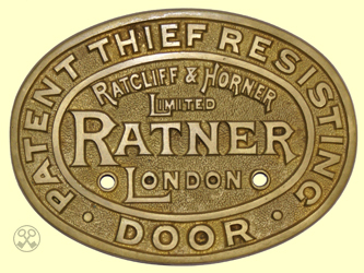 Ratcliff & Horner Limited Door Plate