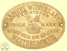 Samuel Withers & Co. plate