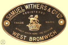 Samuel Withers & Co. Ltd. Plate