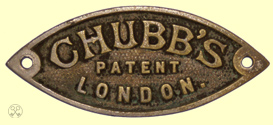 Chubb's Patent London Plate