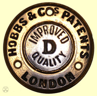 Hobbs & Cos. Improved D Quality Escutcheon